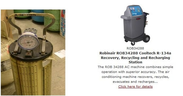 robinair ac machine repair