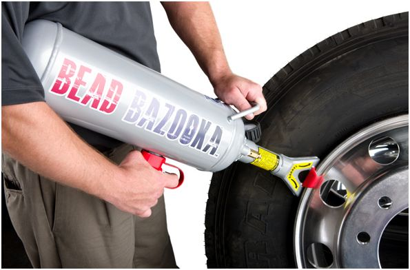 Bead Bazooka – Tire Inflator Makes Setting the Bead Easy!