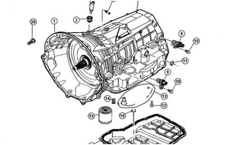 Jeep Grand Cherokee Transmission Fluid Leak Common Leak on Jeep Grand Cherokee Crankshaft Position Sensor Location