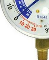 134A Low Guage Vacuum Reading