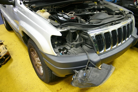 Grand Cherokee Headlight Out