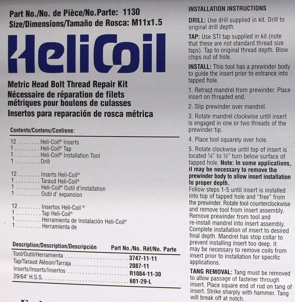 Time-Sert VS Heli-Coil Thread Repair Kits – Which one is
