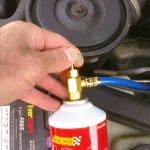Car Refrigerant Regassing