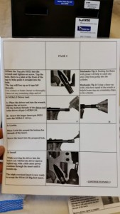 Laminated instructions page 2