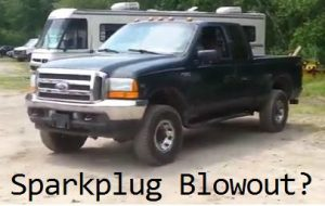 F250 Sparkplug blowout problem