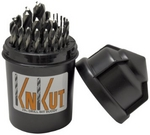 Image  KNKut 29KK5DB 29 Piece Fractional Jobber Length Drill Bit Buddy Set
