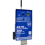 Image Associated US18 6/12V 40/40/10A Wheeled Battery Charger
