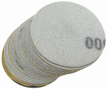 Astro Pneumatic 31000P 1000 Grit Sanding Disc 3' Diameter 25 pk image