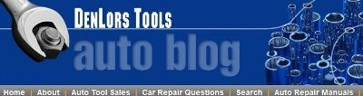 Auto repair blogs, automotive tool articles car tips and advice.