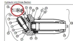 Image Blackhawk 248731 U-Joint for 93642 and 93652 floor jacks.