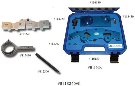 Baum B113240VK 6 cyl Single and Double Vanos Cam Alignment image