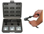 Image CalVan Tools 154 Metric In-line Flaring Tool Set