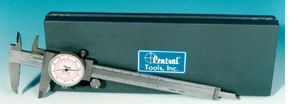 Central Tools CEN6628 Dual Scale Dial Caliper - 0-6