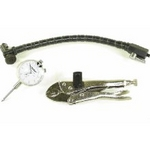 Image Central Tools 3D103 Dial Indicator w/ Locking Pliers