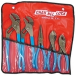 Image Channellock 431KB Pliers Set in Kit Bag 5 Pc.