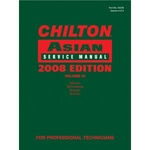 Image Chiltons Book Company 1-4283-2218-3 Chilton 2008 Asian Service Manual Volume 4