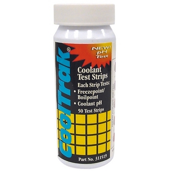 Cooltrak coolant test strips
