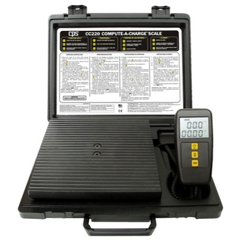 CPS CC220 Compact Refrigerant Charging Scale image
