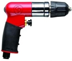 Image Chicago Pneumatic CP 7300RQC 1/4' Reversible Mini Air Drill with Keyless Chuck