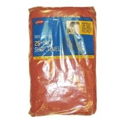 Carrand 40048 Shop Towels - 25 pk roll image