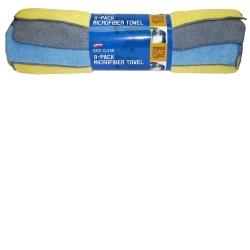 Carrand 40062 8 pk Microfiber Towel 14x14 (80/20 Blend) image