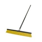 "Image Carrand 93075 24"" Broom w/60"" Steel Handle (plastic tipped)"