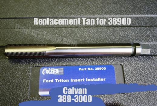 CalVan Tools 389-3000 Replacement Tap for CAL38900 image