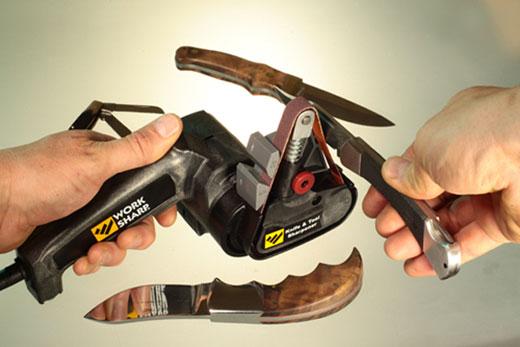 Drill Doctor WSKTS Work Sharp Knife and Tool Sharpener image