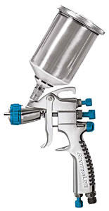 DeVilbiss 802405 Starting Line HVLP Mini Spray Gun - 1.0mm Tip image