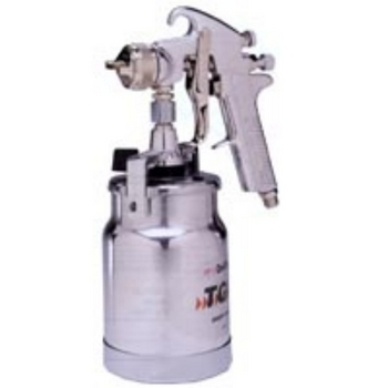 Devilbiss JGA-644 Spray Gun Suction 1.6mm Fluid Tip with Cap & Cup image