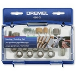 Image Dremel 686-01 31 Piece Sanding/Grinding Kit