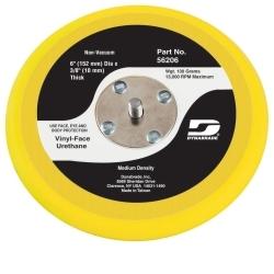 Dynabrade 56206 Diameter Non-Vacuum Disc Pad Vinyl-Face 6
