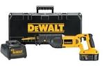 Image Dewalt Tools DC385K HD SRP 18V Cordless Reciprocating Saw Kit
