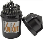 Image  KNKut 29KK38DB 29pc Drill Bit Buddy 1/16-1/2 by 64th w/3/8