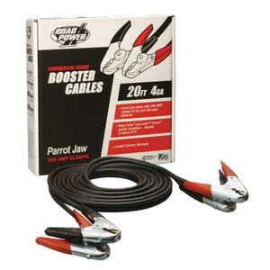 Coleman Booster Cables 08760 500 AMP 20' PARROT JAW CLAMPS image