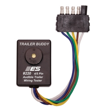 Electronic Specialties 220 Trailer Buddy 4/5 Pin - One Man Trailer Wiring Tester image
