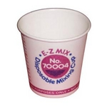 Image E-Z Mix 70004 Disposable Mixing Cups - 1/4 Pint Cups 400 Pk.
