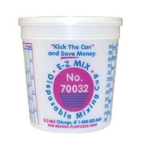 E-Z Mix 70032 Paint Mixing Cups 1 Quart - 100 Pack image