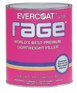 Image Fibreglass Evercoat 105 RAGE BODY FILLER - QUART