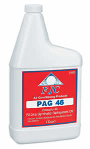 FJC 2485 PAG-46 - Synthetic PAG Refrigerant Oil for R134a; Quart Bottle image