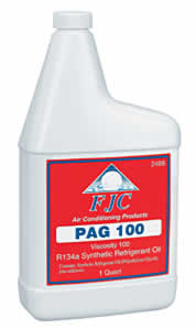 FJC 2488 PAG-100 - Synthetic PAG Refrigerant Oil for R134A - Quart Bottle image