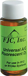 Image FJC 4910 Universal A/C Fluorescent Dye, 1 oz.