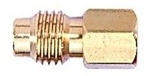 Image FJC Brass Adapter 1/4 Female x 1/2 Acme - R12 to 134A
