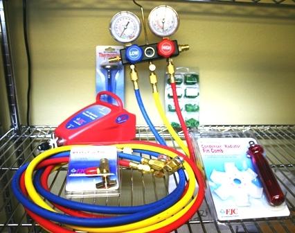 FJC, Inc. KIT4 Air Conditioning Starter Tool Kit image