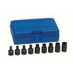Image Grey Pneumatic 1219ET 3/8DR 9PC External Torx Set