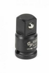 "Image Grey Pneumatic 938A 1/4"" Female x 3/8"" Male Adapter w/ Friction Ball"