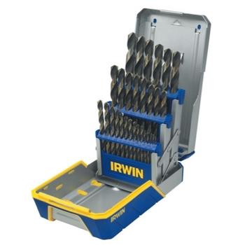 Hanson 3018005 29pc Drill Bit Set Black & Gold Oxide image
