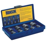 Image Hanson 54019 9 Piece Metric Bolt Extractor Set