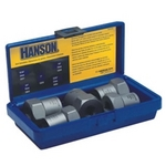 Image Hanson 54125 5 Pc. Rounded Lug Nut Extractor Set 1/2