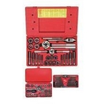 Image Hanson 97606 66 PC. Fractional Tap & Hex Die Set